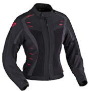 Ixon Rainbow HP ladies textile jacket Black/grey/fuchsia